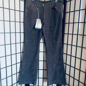 Exofficio flexcord pants NWT dark charcoal sz 10